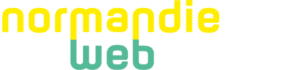 Normandie Web School logo blanc